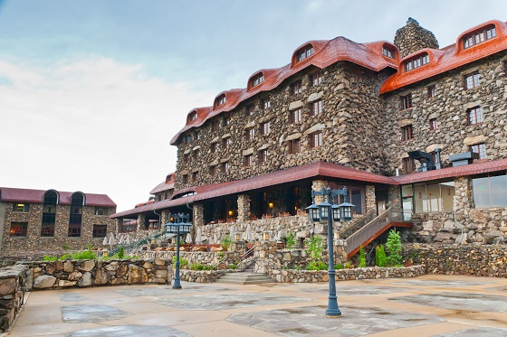 The Omni Grove Park Inn Is A Old Historic Resort Hotel In Ashevi