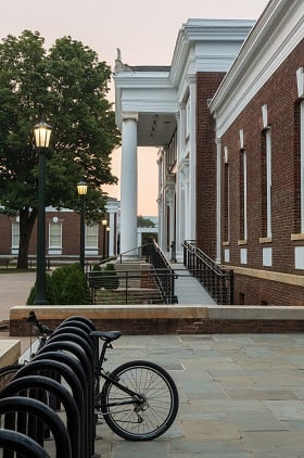 Old Cabell Hall At University Of Virginia